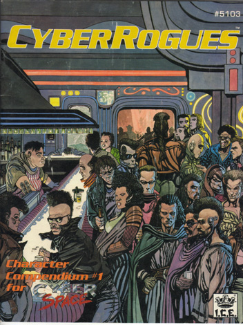 CyberRogues Cover