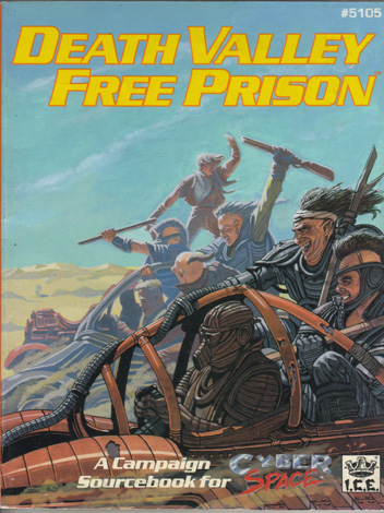 Death Valley Free Prison Cover
