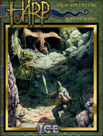 HARP High Adventure Role Playing Cover