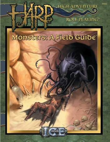 Monsters: A Field Guide Cover