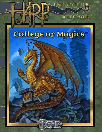 College of Magics Cover