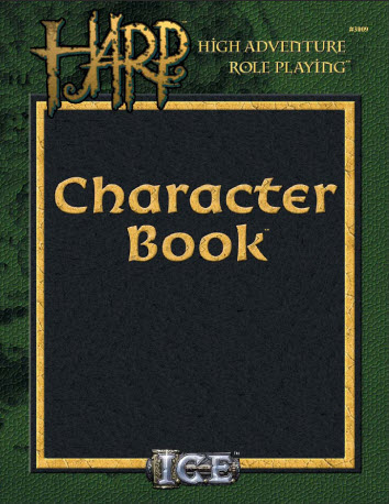 HARP Character Book Cover