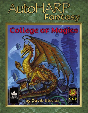 AutoHARP Fantasy: College of Magics Cover