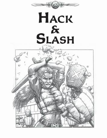 Hack & Slash Cover