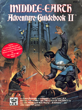 Middle-earth Adventure Guidebook II Cover