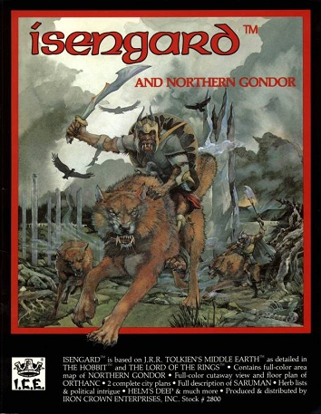 Isengard and Northern Gondor (1987) Cover