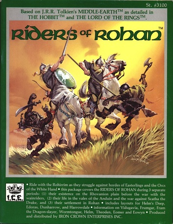 Riders of Rohan Cover