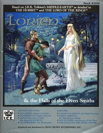 Lorien & The Halls of the Elven Smiths Cover