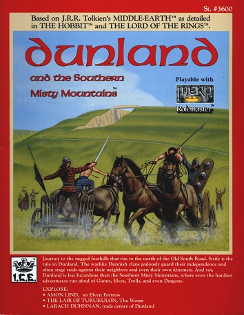 Dunland and the Southern Misty Mountains Cover