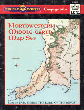 Northwestern Middle-earth Map Set Cover