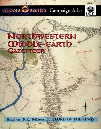 Northwestern Middle-earth Gazetteer Cover