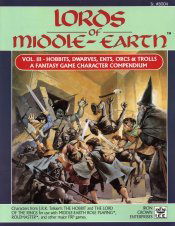 Lords of Middle-earth Vol III: Hobbits, Dwarves, Ents, Orcs & Trolls Cover