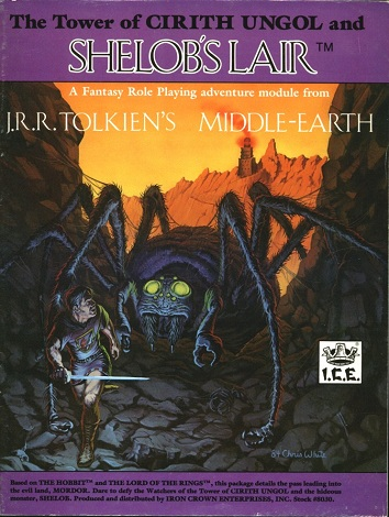 The Tower of Cirith Ungol and Shelob