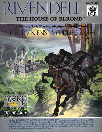 Rivendell The House of Elrond Cover