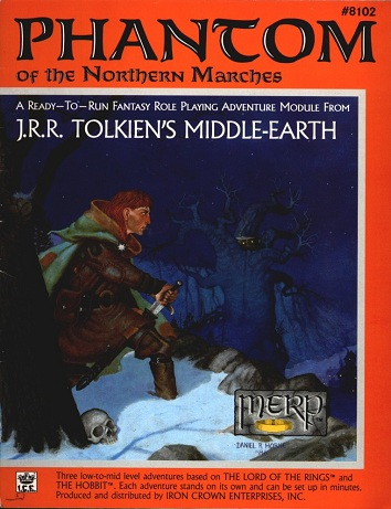 Phantom of the Northern Marches Cover