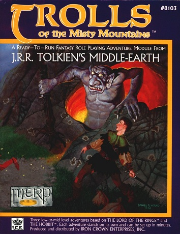 Trolls of the Misty Mountains Cover