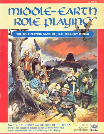 Middle-earth Role Playing (1986) Cover