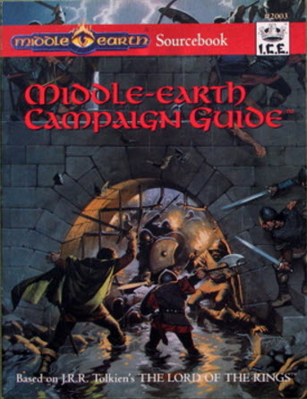 Middle-earth Campaign Guide Cover