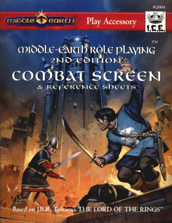 MERP 2nd Ed. Combat Screen (revised 1st Ed. Combat Screen) Cover