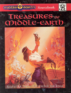 Treasures of Middle-Earth Cover