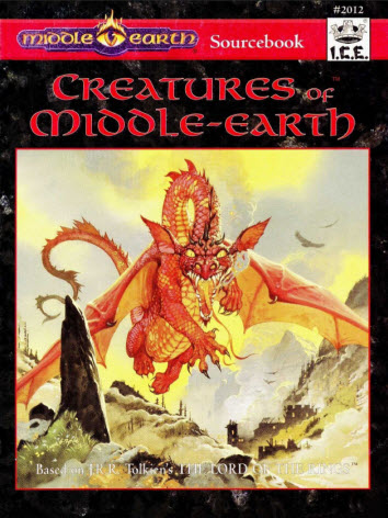 Creatures of Middle-Earth Cover