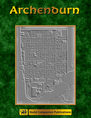 City of Archendurn (Second Edition) Cover