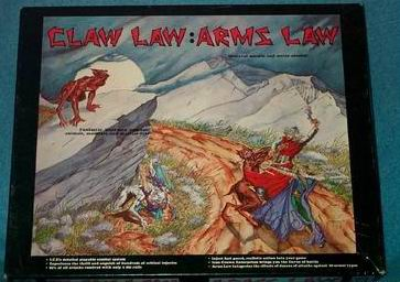 Arms Law & Claw Law Box Cover