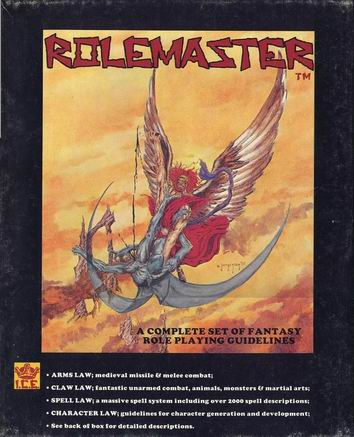 Rolemaster Box #1 Cover