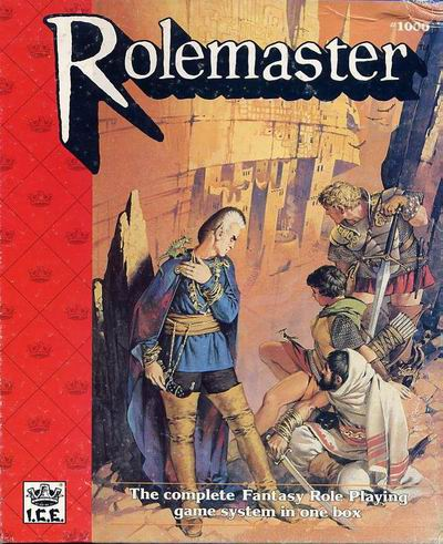 Rolemaster Box Cover