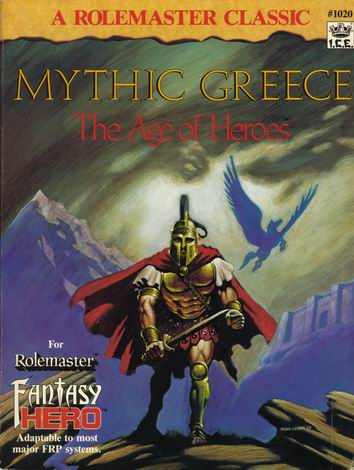 Mythic Greece Cover