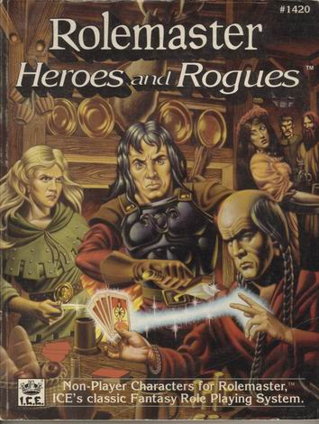 Rolemaster: Heroes and Rogues Cover