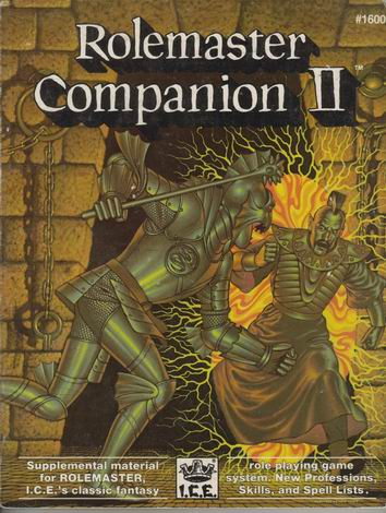 Rolemaster Companion II Cover