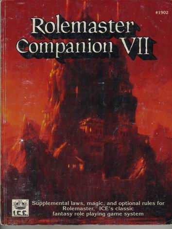 Rolemaster Companion VII Cover