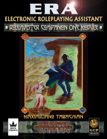 ERA for Rolemaster RMC Rolemaster Companion I Cover