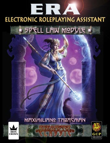ERA for Rolemaster RMC Spell Law Cover