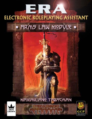 ERA for Rolemaster RMC Arms Law Cover