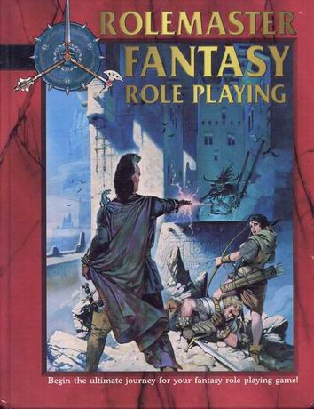 Rolemaster Fantasy Role Playing Cover