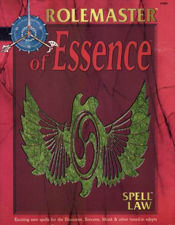 Spell Law: Of Essence Cover