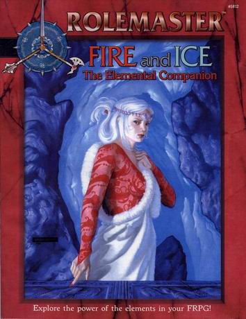 Fire and Ice: The Elemental Companion Cover