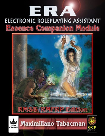 ERA for Rolemaster RMSSFRP Essence Companion Cover