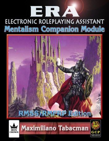 ERA for Rolemaster RMSSFRP Mentalism Companion Cover