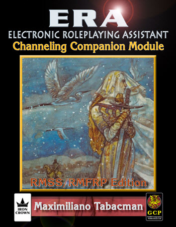 ERA for Rolemaster RMSSFRP Channeling Companion Cover