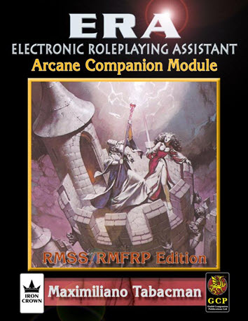 ERA for Rolemaster RMSSFRP Arcane Companion Cover