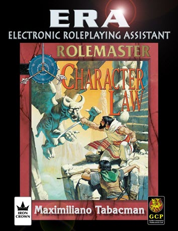 ERA for Rolmaster RMFRP Core and Character Law Cover
