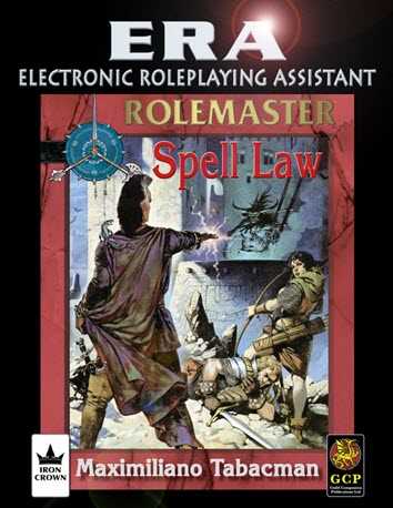 ERA for Rolemaster RMFRP Spell Law Cover