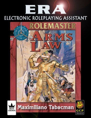 ERA for Rolemaster RMFRP Arms Law Cover