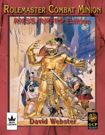 Rolemaster Combat Minion (RMSS/FRP License) Cover