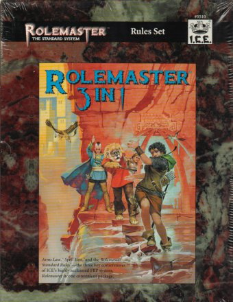 Rolemaster 3 in 1 (AL, SL, RMSR) Cover