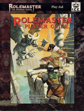 Rolemaster: Player Guide Cover