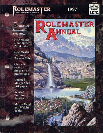 Rolemaster Annual 1997 Cover